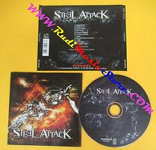 CD STEEL ATTACK Carpe diend 2008 MASSACRE MAS CD0583 (Xs9) no lp mc dvd