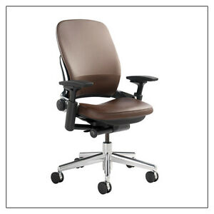 Leap Chair By Steelcase steelcase leap(r) chair (v2) - leather; many colors, 3 frames;