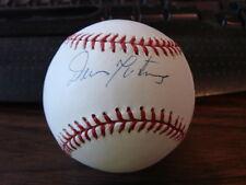 Dennis Martinez Autograph / Signed Baseball Baltimore Orioles Montreal Expos (b1