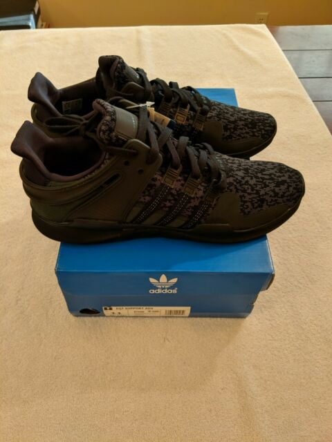reputable site 8369f 64d69 adidas Originals EQT Support ADV Core By9589 Triple Black Mens Size 11