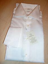 NEW $200 IKE BEHAR Mens Dress SHIRT 16 32 White Non-Iron Performance Cotton FC