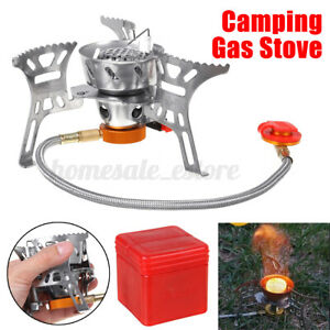 3500W Portable Windproof Camping Gas Stove Mini Outdoor Foldable Cooking Burner