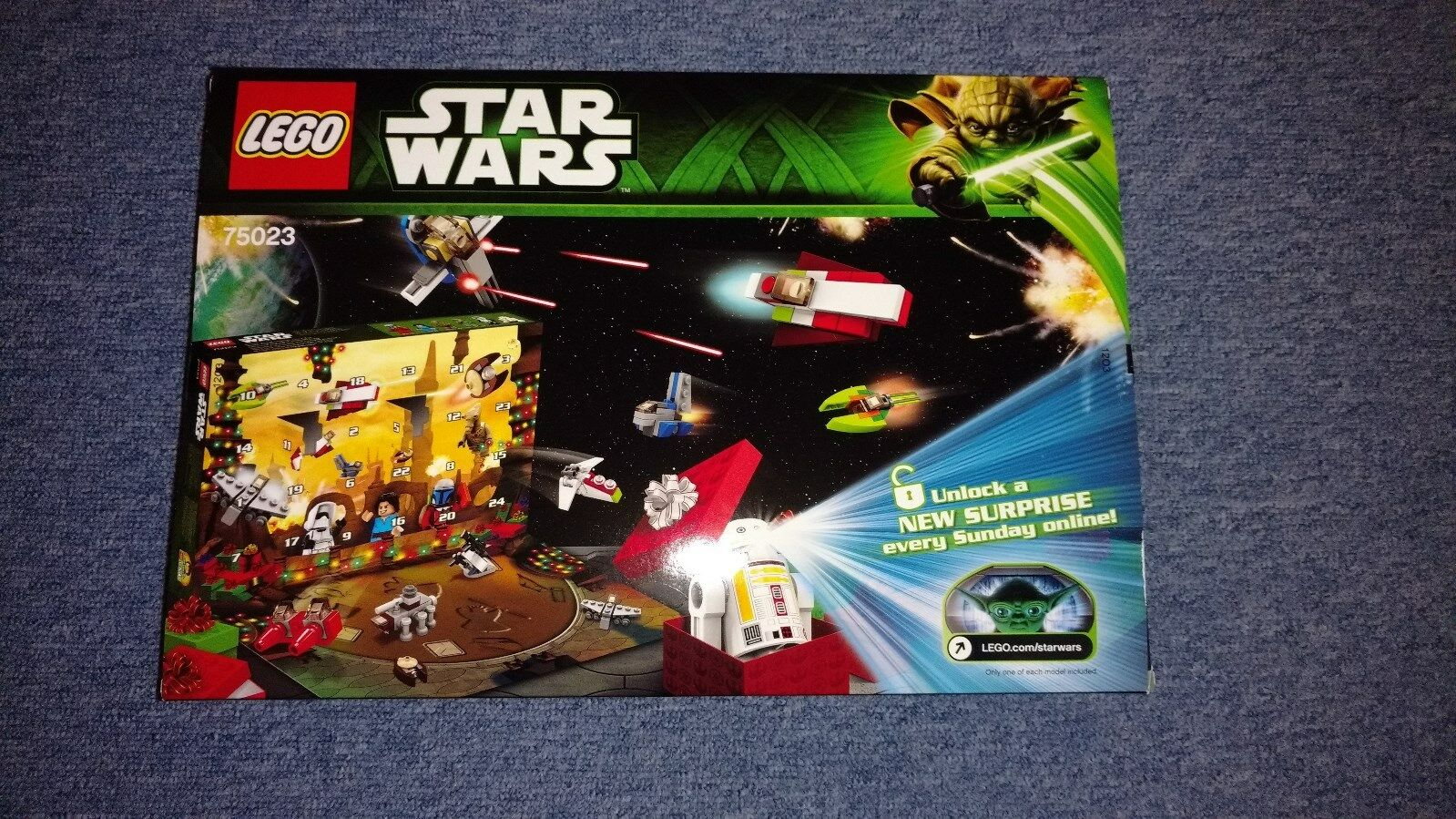 LEGO® Star Wars™ 75023 - Adventskalender 2013 - Neu&OVP (MISB)