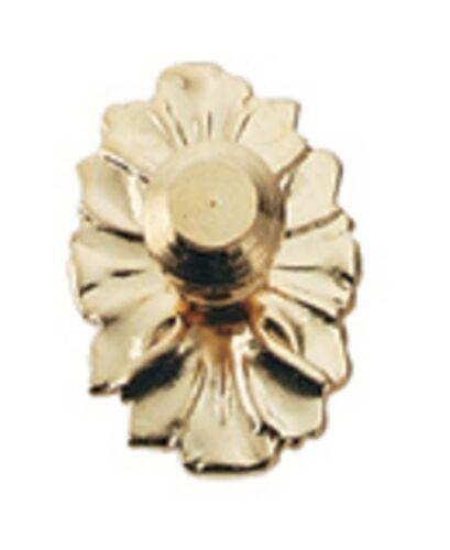 Dollhouse Miniature Gold Plated Medallion Doorknob
