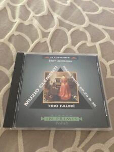 Muzio-Clementi-Piano-Trios-Op-29-amp-35-Trio-Faure-Import-CD-Like-New