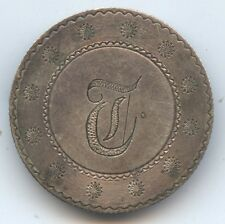 Love Token 1854 Seated Quarter (#6689) Former Pin. Carefully Check out the Photo