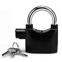 Alarm Lock Door Window Anti-theft Padlock Bike Security Alarm Padlock