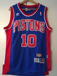 Canotta-nba-basket-maglia-Dennis-Rodman-Detroit-Pistons-Maglietta-S-M-L-XL-XXL