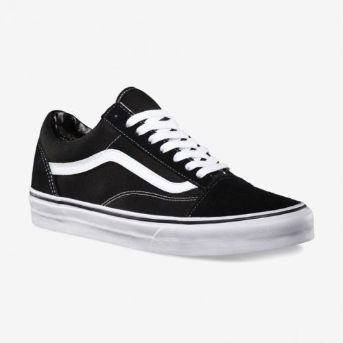 Vans Old Skool Skate Shoes Black/White unisex sizes