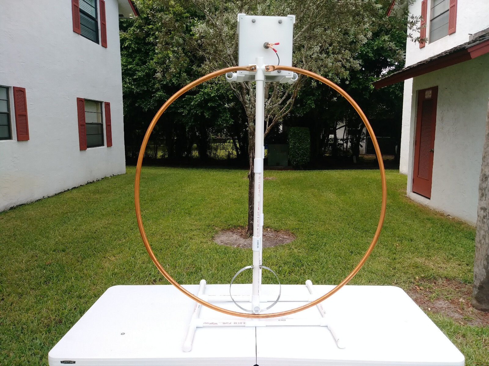 High Power Multiband Magnetic Loop Antenna 17-20-30-40 Mts. Buy it now for 255.00