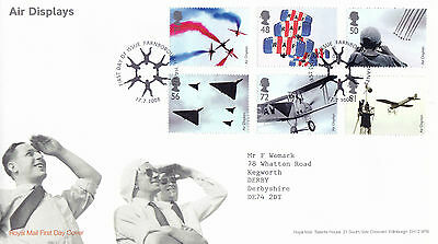 Mooi 17 July 2008 Air Displays Royal Mail First Day Cover Farnborough Hants Shs (a) Groot Assortiment
