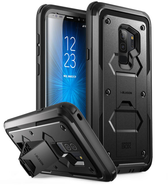 the best attitude fe991 9182c i-Blason Armorbox Case for Samsung Galaxy S9 Plus - Black
