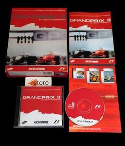 GRANDPRIX-3-by-Geoff-Crammond-PC-CD-ROM-Pal-Espana-Big-Box-Grand-prix-3
