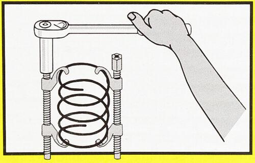 * 2x ressort de Ressort Borne Set marchandise montage tendeur tendeur pour Voiture *