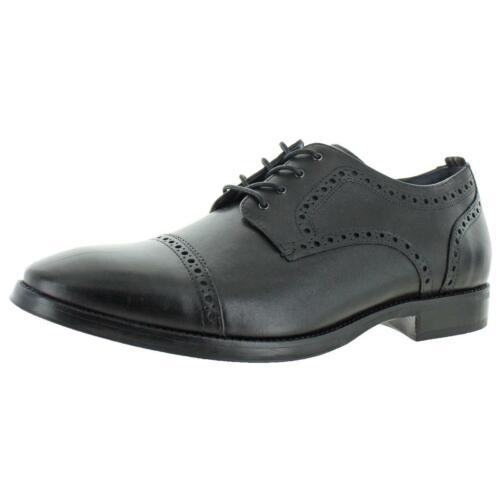 Cole Haan Mens Jefferson Grand 2.0 Leather Bogue Cap Toe Oxfords Shoes BHFO 4036