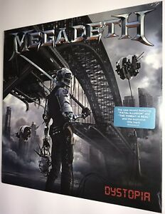 SEALED-MegadetH-Dystopia-Target-Exclusive-Vinyl-LP-2016-Dave-Mustaine-w-Hype