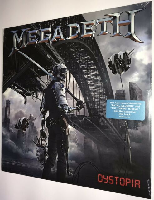 SEALED • MegadetH - Dystopia Target Exclusive Vinyl LP 2016 Dave Mustaine w/Hype