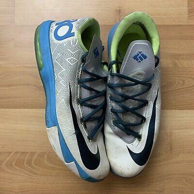 Nike KD 6 Pure Platinum Mens Size 13
