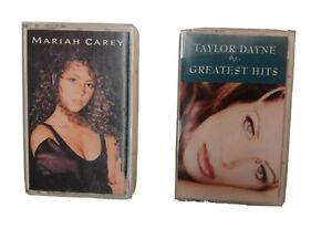 Mariah Carey/ Taylor Dayne Cassette Lot