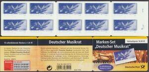 Deutschland-BRD-Michel-Nr-MH-54-a-I-2380-Musikrat-postfrisch-609594