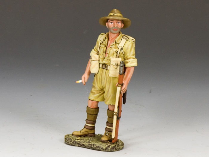KING AND COUNTRY 8TH ARMY Aussie on Guard EA71 EA071