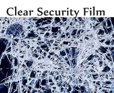 CUSTOM SAMPLE 2 Mil, 4 Mil, 8 Mil & 12 Mil Security Window Film, Home , Office