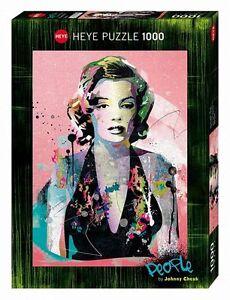 HY29710 - Heye Puzzles - 1000 Piece Jigsaw - Marilyn Monroe