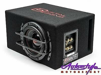 Digital Design DDLESO6-D2 6 inch Compact Sub and Enclosure  Woofer Diameter 6.5 inches  Power Handli