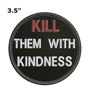 ZOMBIE HUNTING LICENSE Embroidered Patch Iron Sew-On Biker Decorative Applique