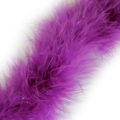 1 Metre Marabou Swansdown Feather Trim Soft Fluffy Craft Swandown 30 Colours