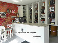 Kaffeevollautomat JURA IMPRESSA -- Festpreis- Reparatur