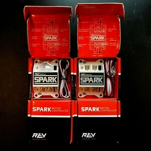Rev-SPARK-Motor-Controller-FIRST-Robotics-Competition-Legal-PWM-12V-DC-Lot-of-4