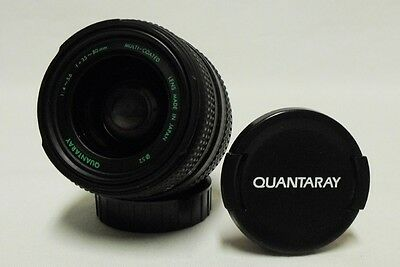 QUANTARAY MC f/4-5.6 35-80mm Zoom Lens SLR Camera DSLR MINOLTA MD Micro 4/3
