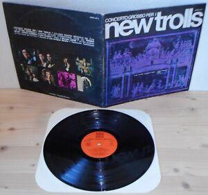 LP-NEW-TROLLS-Concerto-Grosso-Cetra-71-76-5th-ps-Italian-prog-orange-label-VG