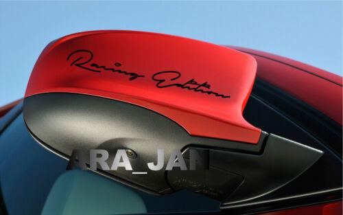 Racing Edition Decal Sport sticker car logo emblem mirror motorsport performance