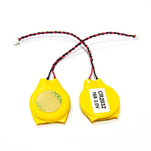 2Pcs Dc08 Dell G4221 Latitude D610 D620 Cmos Rtc Bios 3V Cr2032 Battery 2 Pin KW