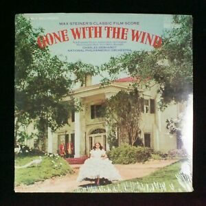 Max-Steiner-039-s-Classic-Film-Score-034-Gone-With-The-Wind-034-Record-LP-Sealed-New