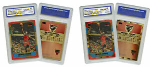 NEVER-BEFORE-SEEN-Genuine-FLEER-MICHAEL-JORDAN-034-1986-034-ROOKIE-PolyChrome-Cards-2