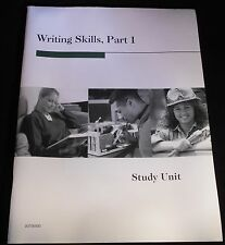 Penn Foster Continuing Education, Written Communictions, 4 Study Guides, Book