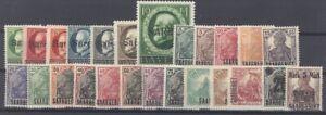 Saargebiet-Posten-aus-Mi-Nr-18-52-Freimarken-1920-21-28420