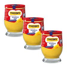 Thomy Delikatess Senf Mittelscharf 250ml Glas Sauce Gewurz Beilage For Sale Online Ebay