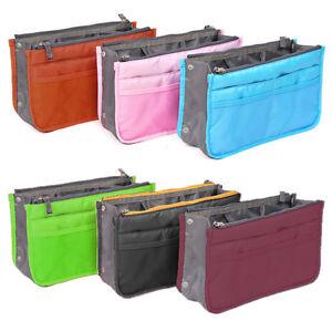 Image Is Loading New Removable Handbag Insert Organiser Large Purse Liner