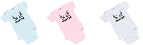 Big Buck Hunter Great Baby Romper Perfect Baby Shower Gift in 3 COLORS