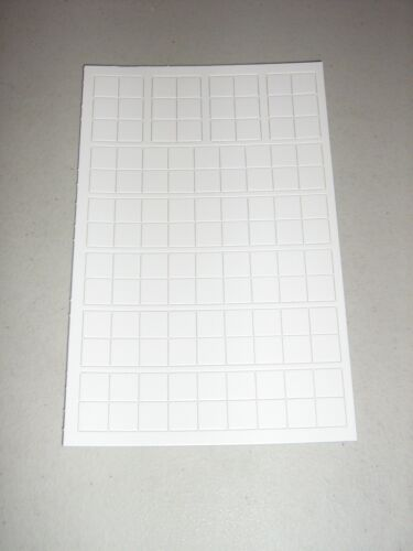 New Blank White 9//16 Inch Counters