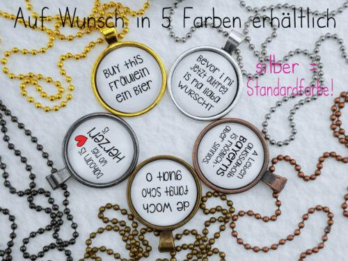 Spruchkette by Perletta 34 x Oktoberfest Bayern Tracht Heimat Dialekt Bier E-H
