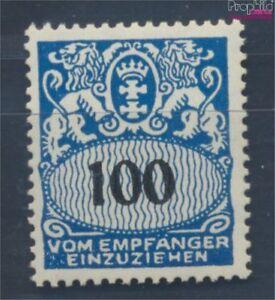 Danzig-P47-postfrisch-1938-Portomarke-7783645