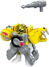 #5 Power Rangers-Battle Armor-Imaginext-Fisher Price-Set=3 Stck Red,Green,Yellow