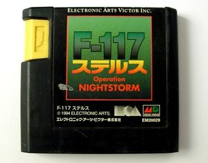 F-117-Operation-Night-Storm-JAP-jeu-Megadrive-Game-for-Sega-Mega-Drive-NTSC-J