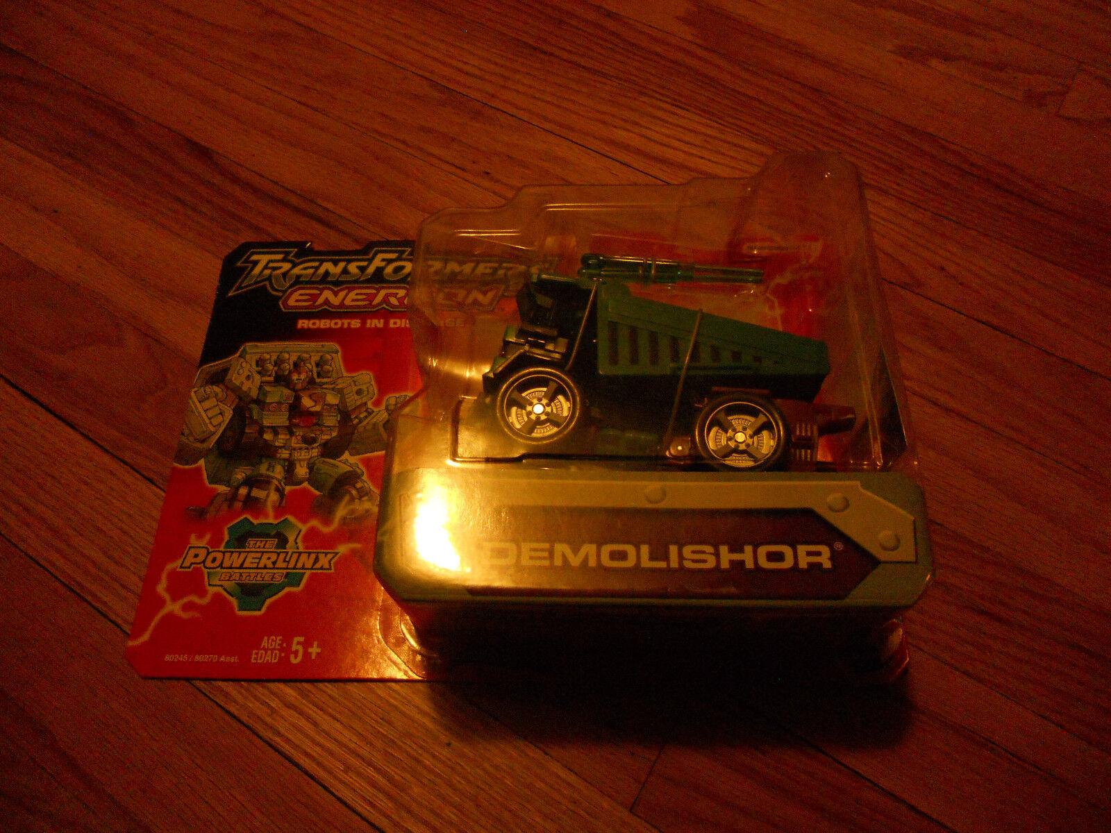 Hasbro Transformers Energon Demolishor Action Figure