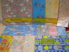 12 Packs Vintage Gift Wrap Paper Bridal Shower Scrapbooking